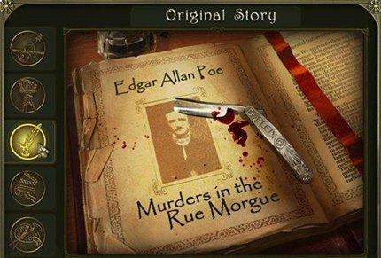 скриншот Dark Tales. Edgar Allan Poe`s Murders in the Rue Morgue (Rus)